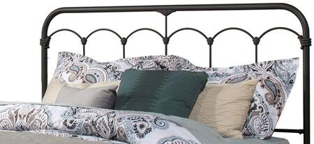 Jocelyn Collection 2087HTWR Twin Size Headboard with Rails  Open-Frame Panel Design and Sturdy Metal Construction in Black