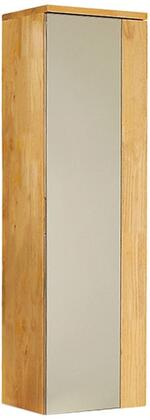 FST6163NW Fresca Caro Natural Wood Mirrored Side