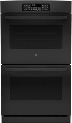"GE 30"" Built-In Double Electric Wall Oven Black JT3500DFBB"
