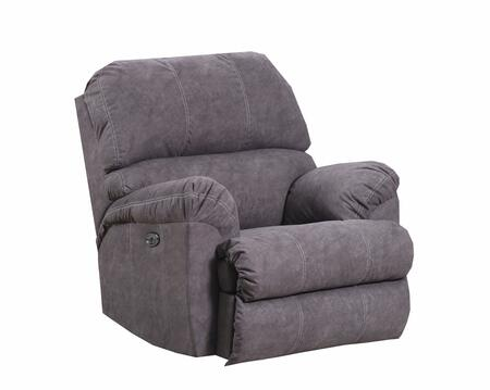 9511-19 PALERMO MOCHA 41 inch  Rocker Recliner with Double Needle Stitching  Pillow Top Seating  Split Back Cushions  Hardwood Lumber Frame and Soft Suede Fabric
