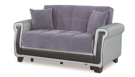 Proline Collection PROLINE LOVE SEAT GRAY 07-55 66