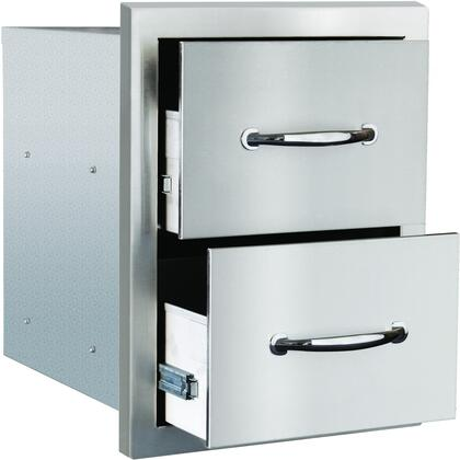 SSDR2M Masonry Double Drawer  in Stainless