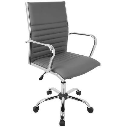 OFC-AC-MSTR GY Master Contemporary Office Chair In