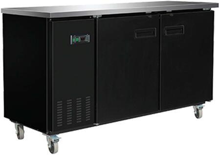 MXBB70 Freezer with 15.4 cu. ft.  Recessed Sliding Door Handle  Aluminum Interior  White Exterior  Light  Temperature Display  Front Facing Drainage  Front