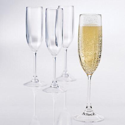 07660404 Indoor/Outdoor Champagne Flutes(Set of