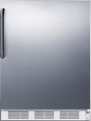 FF7CSS 24 inch  FF7BI Series Medical  Commercially Approved Freestanding or Built In Compact Refrigerator with 5.5 cu. ft. Capacity  Hidden Evaporator and Auto