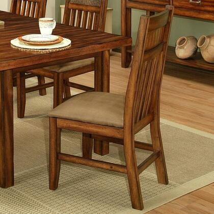 212006 Marissa Side Chair with Solid Cherry Wood Construction in a Cumin Spice