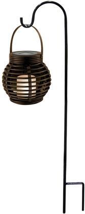 SCC340SLR 33 Solar LED Lantern with Shepard's Hook Metal