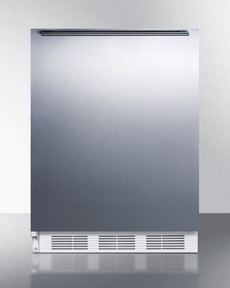 BI540SSHHLHD 24 inch  Compact All Refrigerator with 5.1 Cu. Ft. Capacity  Dual Evaporator Cooling  Cycle Defrost  Adjustable Thermostat and Interior Light in