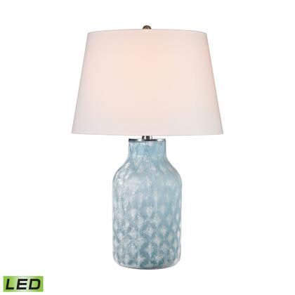 D2922-LED Sophie 1 Light LED Table Lamp in Santa Monica Blue