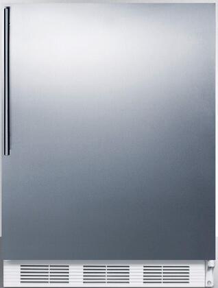 FF67SSHVADA 24 inch  FF67ADA Series Energy Star  ADA Compliant  Medical  Commercial Freestanding Compact Refrigerator with 5.5 cu. ft. Capacity  Crisper  Interior