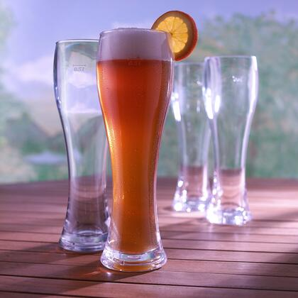 7661404 Indoor/Outdoor Pilsner Glasses(Set of