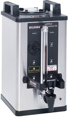 27850.0016 1.5 Gal Soft Heat Portable Server 240Min With LED Power Indicator  Safety Fresh  Soft Heat  in Stainless