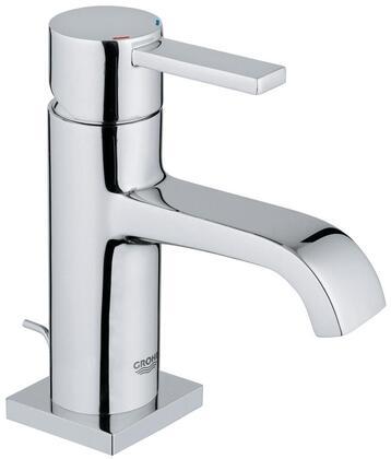Grohe 2307700A Allure Single-Handle Bathroom Faucet, Medium, Starlight
