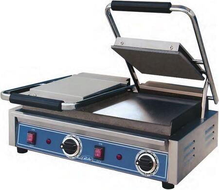 GSGDUE10 Bistro Series Double Sandwich Grill with Smooth Plates  8.25