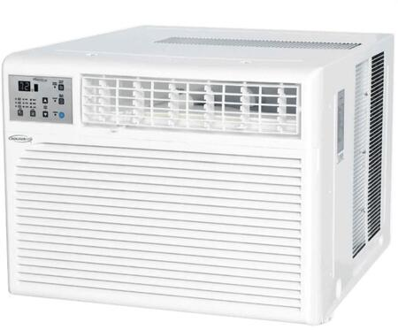 WS115E01 Windowed Air Conditioner with 15400 BTU Cooling Power  Programmable Timer  Washable Filter  Adjustable Airflow  and Child Lock  in