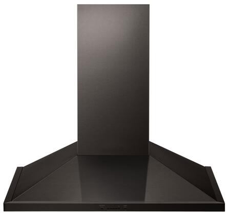 LSHD3689BD 36 inch  Wall Mount Chimney Hood with 600 CFM Blower  2 Dishwasher Safe Mesh Filters  IR Touch Controls  and Wi-Fi Capable  in Black Stainless
