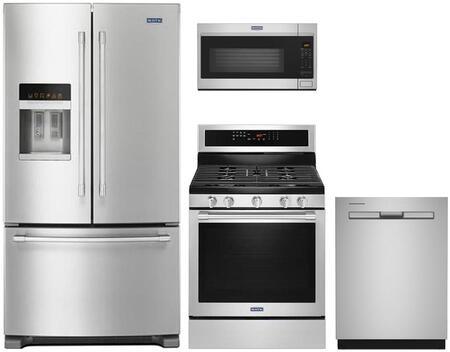 4-Piece Kitchen Appliances Package with MFI2570FEZ 36