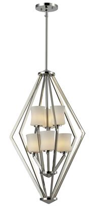 Elite 608-6-CH 17 inch  6 Light Foyer Pendant Contemporary  Urbanhave Steel Frame with Chrome finish in Matte