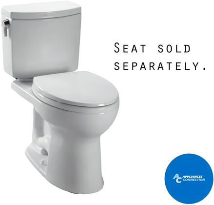 CST474CUFG#11 Vespin II Series Two-Piece Elongated 1G Toilet with Vitreous China Construction  Tornado Flush System  and CeFiONtect Ceramic Glaze  Colonial