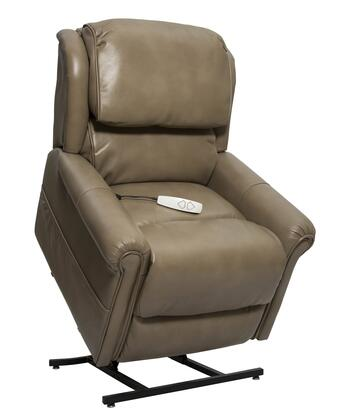 Uptown NM2350-BMS-A0A 34 inch  Power Recliner Lift Chair with 3-Position Mechanism  Split Back Design and Chaise Pad in