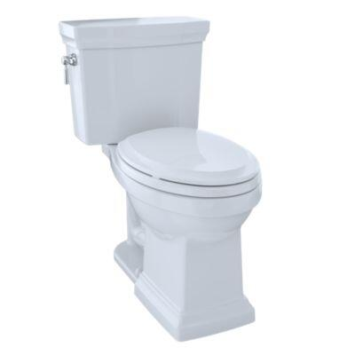 Promenade II CST404CEFG#01 Two-Piece Toilet with 1.28 GPF  Tornado Flush Technology  12 inch  Rough-In and WaterSense in Cotton