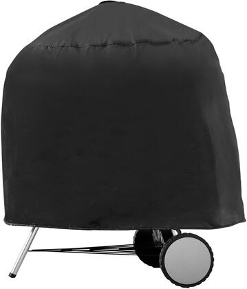 1094 30 inch  Kettle Grill Cover with Water Resistant  Soft Fleece Polypropylene Backing  Multi-Ply Construction and Heavy Duty Vinyl Fabric in Black