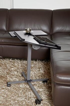 202-BLK Black Height Adjustable Mobile Laptop