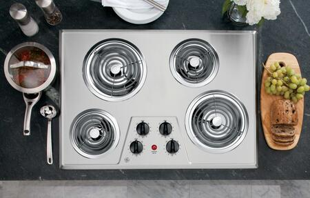 Click here for JP328SKSS 30 Electric Cooktop with 4 Coil Heating... prices