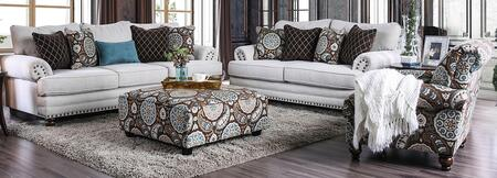 Amani SM8120-SFLVCHOT 4-Piece Living Room Sets with Sofa  Loveseat  Chair and Ottoman in