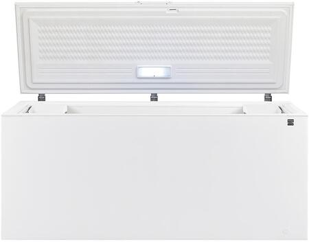 17822 84 Chest Freezer with 24.8 cu. ft. Capacity  Door Lock  LED Light  2 Storage Basket  in