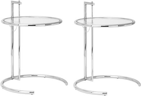 Eileen Gray Collection EM-130-SLV-X2 24