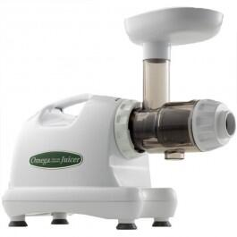 J8004 Masticating Juicer with 80 RPM Low-Speed  150 Watts  Dual Stage Extraction and High Juice Yield in