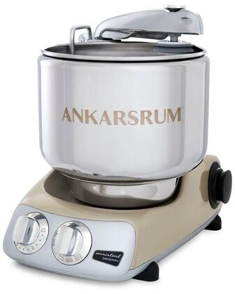 AKM6230SG Ankarsrum Original Mixer with 7 Liter Stainless Steel Bowl  3.5 L Double Whisk Bowl  Dough Hook  Roller  Scraper  Spatula  Dust Cover  Cookie Beaters