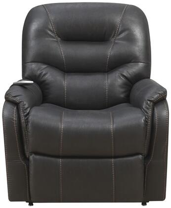 A280-016-044 Heat & Massaging Lift Chair with Padded Seat  Solid Wood Frame and Metal Reclining Mechanism in Badlands