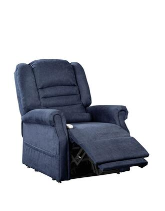 Serene NM1850-NAF-A11 33 inch  Power Recliner Lift Chair with Infinite Position Mechanism  Chaise Pad and Sinuous Spring and Foam Seat in