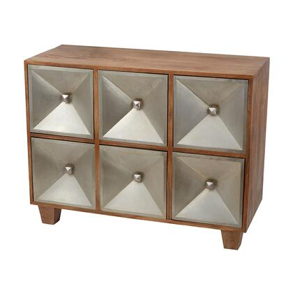 985-010 39 Spencer Chest in German Silver