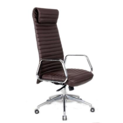 FMI10178-dark brown Ox Office Chair High Back  Dark