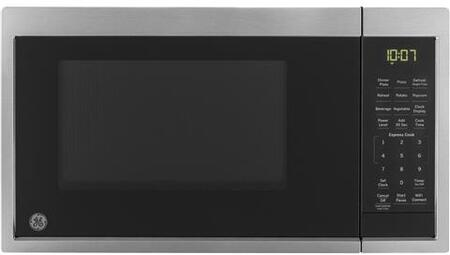 JES1097SMSS 19 Smart Countertop Microwave Oven with 0.9 cu. ft. Capacity  Wi-Fi Connect  Convenience Cooking Control  Turntable  Auto and Time