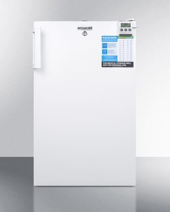 FF511LBIVACADA 20 inch  VAC Series Medical Freestanding or Built In Compact Refrigerator with 2.5 cu. ft. Capacity  ADA compliant  Factory installed
