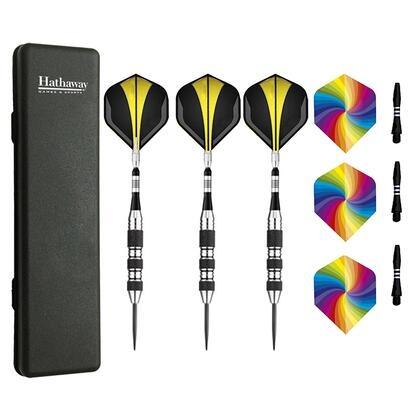 NG1056 The Tempest Steel Tip Darts - Set Of