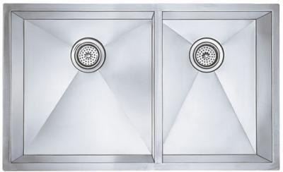 512750 33 Undermount 1 & 3/4 Bowl Stainless Steel