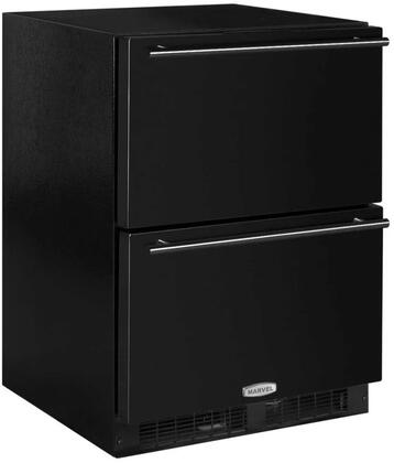 ML24RDP3NB 24 inch  Marvel Refrigerated Drawers with Dynamic Cooling  Technology  Thermal Efficient Cabinet  Multifunction Marvel Intuit  and Close Door Assist