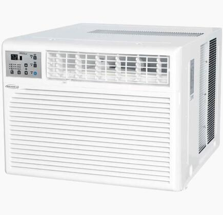 WS112E01 Windowed Air Conditioner with 12 600 BTU Cooling Power  Programmable Timer  Washable Filter  Adjustable Airflow  and Child Lock  in