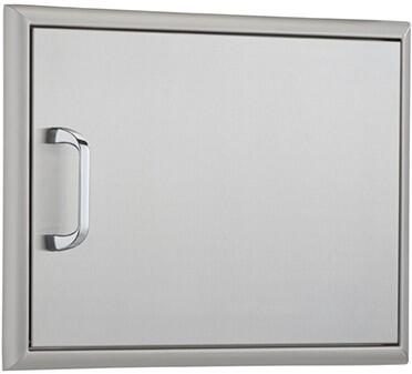 OCI-14X20ADS-H 20 inch  x 14 inch  Horizontal Single Access Door with Heavy Duty Hinges and Magnetic Latch: Stainless