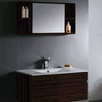 Click here for VG09008109K 35 Single Bathroom Vanity with Medicin... prices