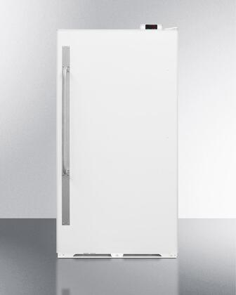 "SCUR18NC 34"" Commercially Approved Full Size Refrigerator with 16.7 cu. ft. Capacity  Right Hinge  Interior Light  Frost Free and Door Lock  in"