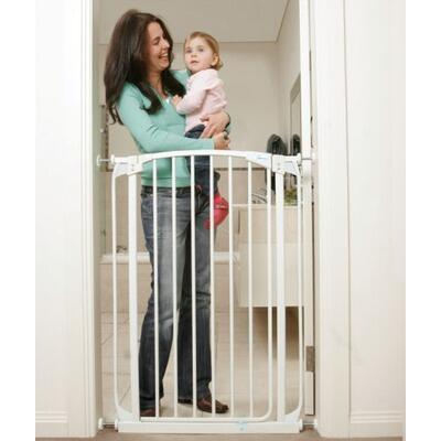 L788W Madison Xtra Tall Swing Close Gate Extra Value Pack with 2 Gates and 2 Extensions in