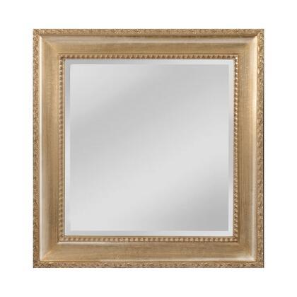 MW4508B-0027 Beacon Street Mirror in Light Walnut  Silver Mist
