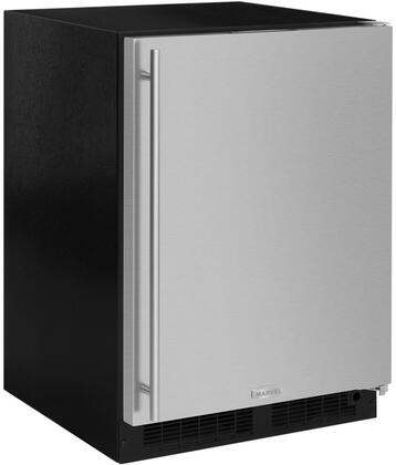 ML24RIS4RS 24 inch  Compact Refrigerator with Freezer  4.9 cu. ft. Total Capacity  Dynamic Cooling  Independent Temperature Control  in Stainless Steel and Right